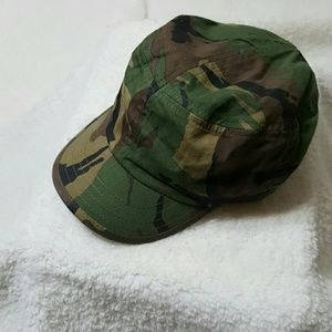 Boys KidConnection Camouflaged Cap Toddler